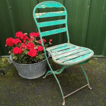 SOLD-Chippy Garden Chair
