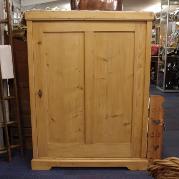 SOLD-Continental Pine Cupboard