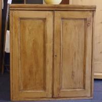 Victorian Stripped Pine cupboard
