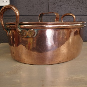 RESERVED-Copper Cooking Pan