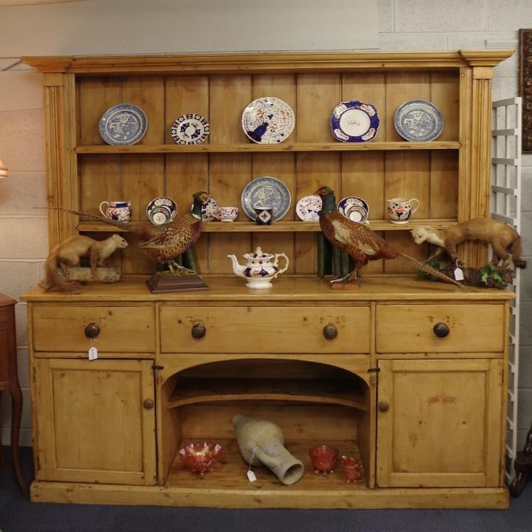SOLD-Pine Farmhouse Dresser