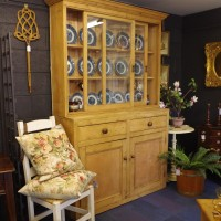 Glazed Top Pine Dresser