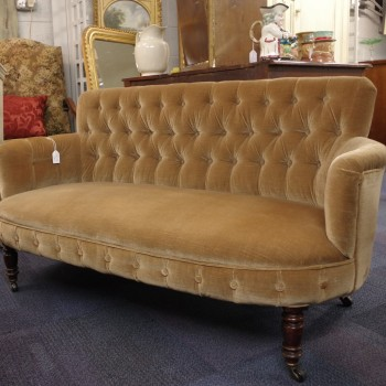 Victorian Button Back Sofa