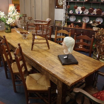 Large Pine Farmhouse Table