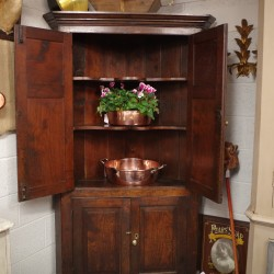 Georgian Oak Cupboard