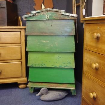 SOLD-Vintage Pine Beehive