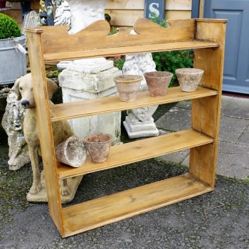 SOLD-Vintage Pine Shelves