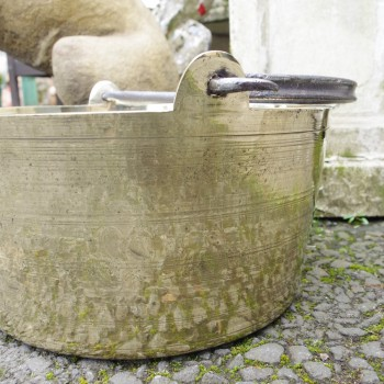 SOLD-Brass Jam Pan