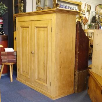 SOLD-Antique Pine Cupboard