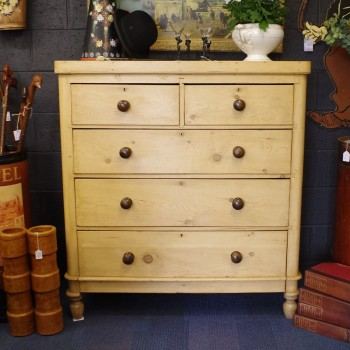 SOLD-Victorian Pine Chest of Drawers