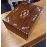 Rosewood Sewing Box