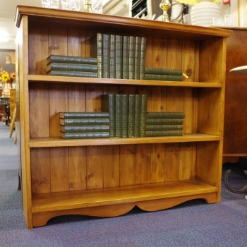 SOLD-Vintage Pine Bookcase