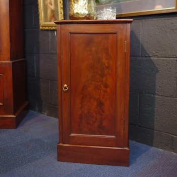 SOLD-Mahogany Bedside Cabinet