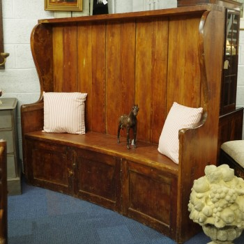 Rustic Wooden Settle