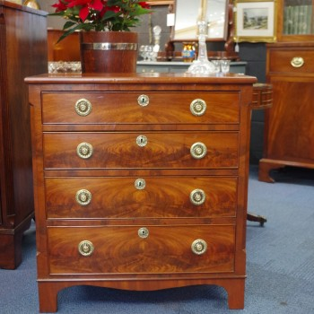 RESERVED-Mahogany Chest of Drawers