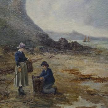 Water on Welsh Coast