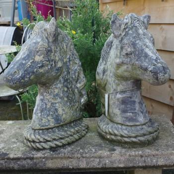 Pair Horse Heads
