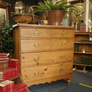 SOLD--Antique Pine Chest of Drawers