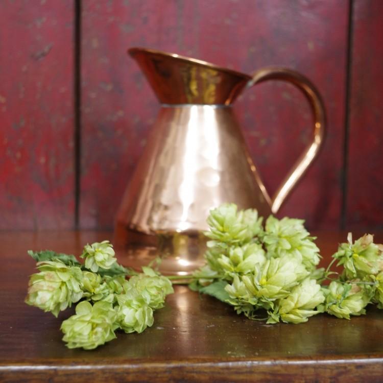Vintage Copper Ale Jug