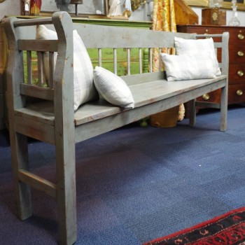 SOLD-Continental Pine Bench