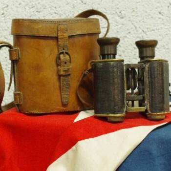 WW2 Cased Binoculars
