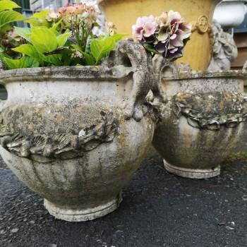 SOLD-Classical Garden Urns
